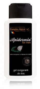 COMPLEXUL APICOL APIDERMIN GEL DUS REVIGORANT 200 ML