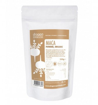 DRAGON SUPERFOODS MACA PULBERE RAW ECO 200 GR