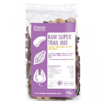 DRAGON SUPERFOODS RAW SUPER TRAIL MIX ECO 150 GR