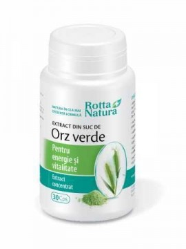 ROTTA NATURA EXTRACT ORZ VERDE 30 CPS