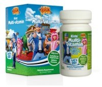 LYSI LAZY TOWN MULTIVITAMINE 60 CPR 1+1 CADOU