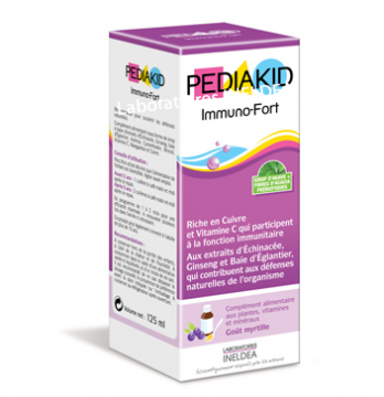 PEDIAKID IMMUNO-FORT 125 ML SIROP