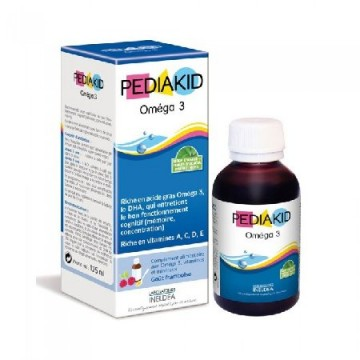 PEDIAKID OMEGA 3 DHA SI VITAMINES 125 ML