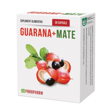 QUANTUM PHARM GUARANA + MATE 30 CPS