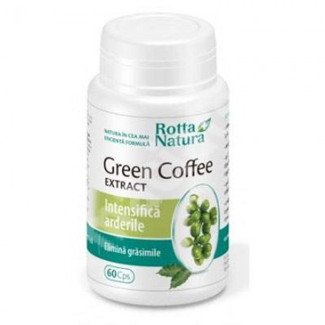 ROTTA NATURA GREEN COFFEE EXTRACT 60 CPS