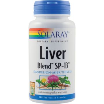 SECOM LIVER BLEND 100 CPS SOLARAY