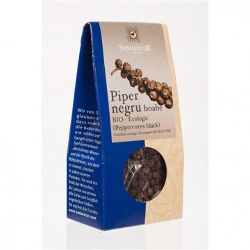 SONNENTOR PIPER NEGRU BOABE ECO 35 GR
