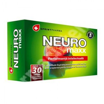 SPRINT PHARMA NEURO MAXX 30 CPS