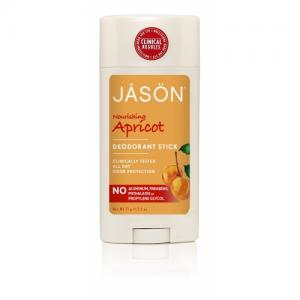 Deodorant natural stick Jason cu caise, 75g