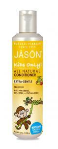 Balsam Bio pentru par Jason, banane si capsuni pentru copii, 260g