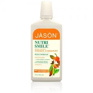 Apa de gura Jason cu portocale, scortisoara si menta, 473ml