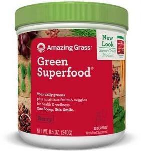 Bautura din iarba de grau - Antioxidant, 30portii, Amazing Grass