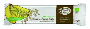 Baton RAW breakfast cu banane si ovaz BIO 40 g