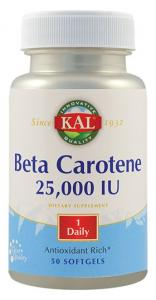 Beta carotene 25000UI 50cps