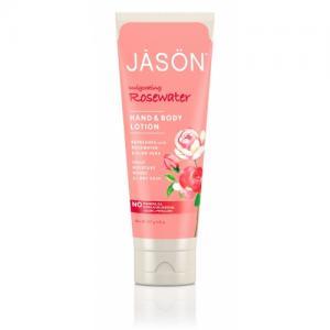 Crema hidratanta Jason cu trandafiri pentru maini si corp, 227 g