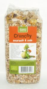 Crunchy cu Amaranth si nuci BIO 300 g