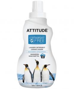 Detergent bio pentru rufe Attitude, Hypoalergenic cu flori de camp, 35 spalari, 1l