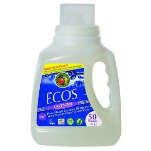 ECOS-detergent lichid pentru rufe super concentrat-lavanda, 1.5 l/50 spalari