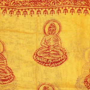 Esarfa din bumbac - Buddha