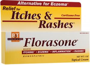 Florasone eczema cream 28.35gr Secom