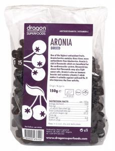 Fructe de aronia RAW BIO 150 g