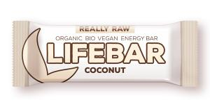 Lifebar baton cu nuca de cocos RAW BIO 47 g