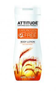 Loţiune de corp Attitude pentru hidratarea zilnica a pielii, 355 ml