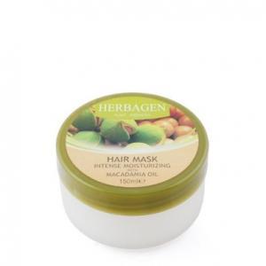 Masca par intens hidratanta cu ulei de macadamia 150 ml Herbagen