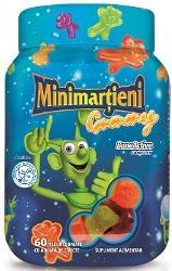 Minimartieni Bone Active Gummy 60 Jeleuri Walmark