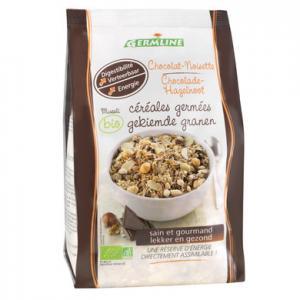 Musli din cereale germinate ciocolata si alune BIO 350 g