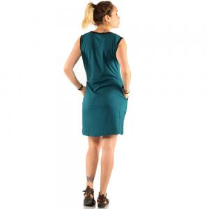 Rochie din bumbac model trifoi