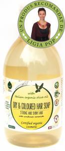 Sampon ecologic cu ulei de masline par ucat/vopsit 300 ml