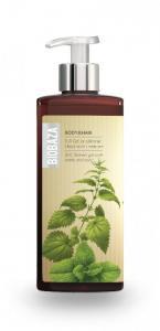Sampon si gel de dus natural cu menta si urzica, 400 ml - Biobaza