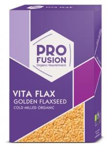 Seminte de in aurii macinate la rece BIO 500 g