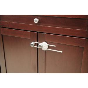 Siguranta culisanta pentru blocare/ deschidere usa alb/ gri