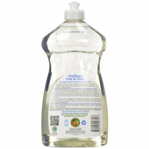 Solutie pentru spalat vase/biberoane, fara miros, 750ml, Ecos
