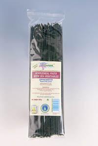 Spaghetti integrale grau dur cu alge marine BIO 250 g
