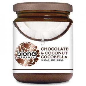 Unt de cocos tartinabil cu ciocolata BIO 250 g