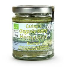 Unt din seminte de canepa RAW BIO 170 g Carley's Organic