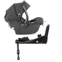 Pachet scaun auto Joie i-Anchor Advance + bază ISOfix i-size + scoica auto Joie i-Gemm4