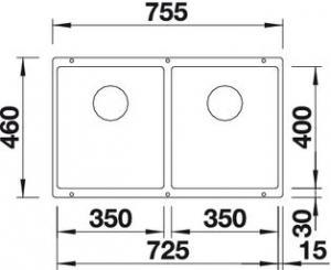 Blanco Subline 350/350-U