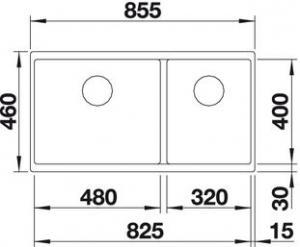 Blanco Subline 480/320-U