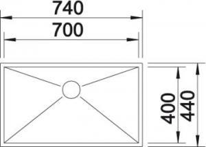 Blanco Zerox 700-U