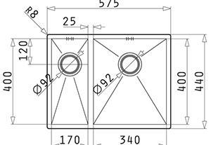 Pyramis Tetragon 1 1/2 57x44 DR