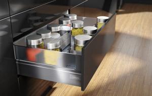 Sistem compartimentare sertare Orga-Line - Tandembox - front înalt