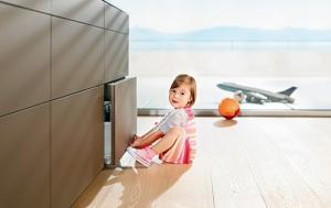 Tehnologie uși și sertare Tip-On Blumotion