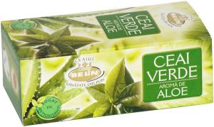 Ceai verde cu aloe 20pl.40gr