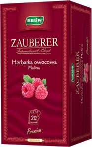 Ceai Zauberer de zmeura 20 pl, 45 gr