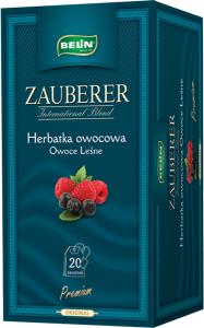 Ceai Zauberer fructe de padure 20 pl, 45 gr