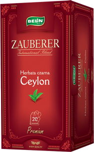 Ceai Zauberer  Ceylon 20 pl, 40 gr